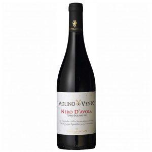 Molino a Vento Nero d'Avola rode-wijn